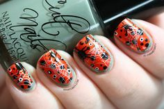 manicurity: Spider-y Halloween Ruffian Nail Art | Click through... -