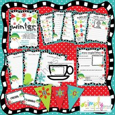 Cute winter themed ideas for the classroom
