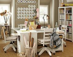 Shop beadboard basic from Pottery Barn Teen. Our teen furniture, decor and accessories collections feature fun and stylish beadboard basic. Create a unique and cool teen or dorm room. Study Rooms, Study Space, Kids Study, Study Desk, Group Study Room, Teen Study Room, Study Tables, Study Areas, Study Office