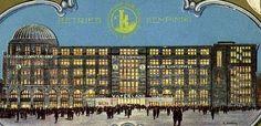 Haus Vaterland Eroeffnungsprospekt 1929 Classic Architecture, Architecture Design, Berlin Spree, Potsdamer Platz, Berlin City, Berlin Germany, Historical Photos, Wwii, The Past
