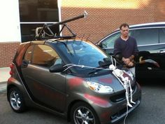A Reaver smart car...