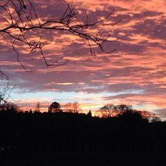 Sunset, Edinburgh