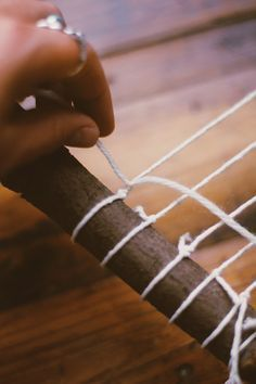 DIY Branch Weaving | Free People Blog #freepeople
