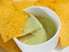 Creamy Salsa Verde (with sour cream)