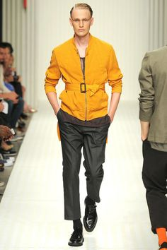Robert Geller Spring 2014 Menswear Collection Slideshow on Style.com