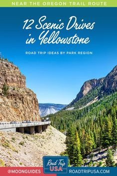 Plan your epic Yellowstone National Park road trip with these driving tours on Yellowstone's most scenic roads featuring stunning vistas, wildlife, and photo ops. Grand Teton National Park, Yellowstone National Park, National Parks, West Yellowstone, Perfect Road Trip, Oregon Trail, Road Trip Usa, Travel Guides, Roads
