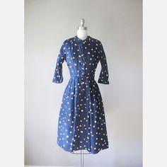 '50s Lucy Raw Silk Dress