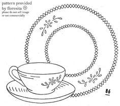 teacup pattern