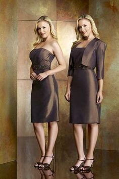 mother of the bride dresses knee length