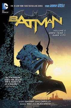 BATMAN VOL. 5: ZERO YEAR – DARK CITY TP Written by SCOTT SNYDER Art by GREG CAPULLO and DANNY MIKI Cover by GREG CAPULLO On sale APRIL 29 • 240 pg, FC, $16.99 US Before the Batcave and Robin, The Joker and the Batmobile, there was ZERO YEAR. The Riddler has plunged Gotham City into darkness. How will a young Dark Knight bring his beloved hometown from the brink of chaos and madness back into the light? This final ZERO YEAR volume collects BATMAN #25-27 and 29-33.