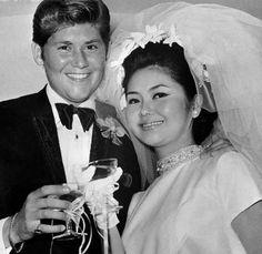 1968. Wayne Newton and Elaine Okamura