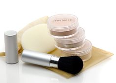 mineral cosmetics Our Mineral Makeup Gift Set contains Jenulence Loose Mineral Foundation/concealer, Mineral Blush, Finishing Powder,latex-freeoblong flocked sponge and conve Makeup Gift Sets, Mineral Cosmetics, Mineral Foundation, Finishing Powder, Green Gifts, Dark Skin Tone, Latex Free, Natural Skin, Concealer