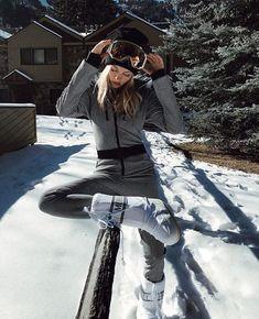 Looks para esquiar com muito estilo nesse inverno