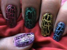 Crackle Nail Polish – Get the Crackle on Your Nails!: Creative Crackle Nail Polish Hipsterwall ~ frauenfrisur.com Nails Inspiration