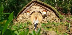 Hobbit House of Bukidnon: Attractions, Accommodations, and Photo Ideas - Alexis in the Bright Blue Dot The Hobbit, Wood Watch, Philippines, Attraction, Entrance, Travel Ideas, Outdoor Decor, Photo Ideas, Pictures