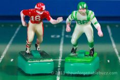 1967 Tudor Chiefs and Eagles. Electric Football NFL and AFL