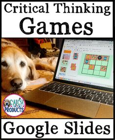 Teachers, critical thinking games for kids provide problem solving skills w/out worksheets. Kindergarten, first grade, & second fun indoor activities on computer teach skills & strategies w/ logic puzzles in google slides. Awesome gifted curriculum or homeschool brain challenge teaching ideas for k, 1st & 2nd. Student education exercises & brain teasers with answers. Hard enrichment but easy to use early finishers or gifted and talented. (Level 1,2) #TpT #Teachers #iteach #iteachgifted #edu… Brainstorming Activities, Teaching Activities, Learning Resources, Teaching Ideas, Critical Thinking Activities, Critical Thinking Skills, Primary Lessons, Math Lessons, 21st Century Classroom