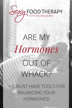 """One of the things I would often hear from friends of mine when something just 'felt off' physically or emotionally was, """"My hormones must be out of whack."""" Problem is, they didn't exactly know what was out of balance, which may be the case for you too! What Is Adrenal Fatigue, Adrenal Fatigue Treatment, Hormone Imbalance Symptoms, Hormone Diet, Adrenal Health, Women's Health, How To Regulate Hormones, Balance Hormones Naturally, Menopause Symptoms"""