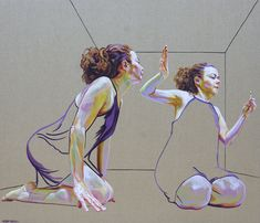 Por amor al arte: Cristina Troufa Art And Illustration, Figure Painting, Figure Drawing, Cristina Troufa, Figurative Kunst, Different Kinds Of Art, A Level Art, Artist Portfolio, Art Inspo