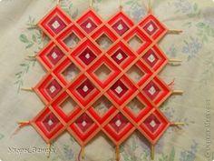 "Mandala in the style of ""Tibetan weaving""129"