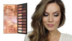 MakeUp Tutorial Using Costal Scents 'Revealed 2' Palette