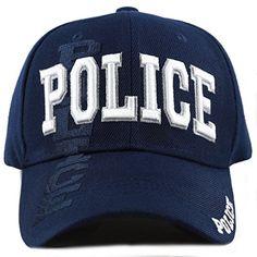 3bdd4b5de0d13 Great for THE HAT DEPOT Law Enforcement Police Officer 3D Embroidered  Baseball Cap.   4.99