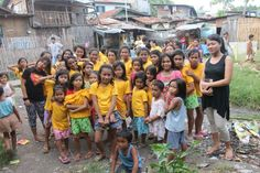 group of kids that are part of cebu hope house