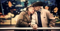 I've always loved seeing an older couple cuddling or holding hands when outside. It reminds me that an ever lasting love is definitely possible. Click Like if you love seeing a loving mature couple too!