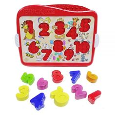 Numbers - Brick Mates - Lock and Learn - Disassembled Image - Puzzle Learning Activity Toddler Preschool, Toddler Activities, Learning Activities, Stem Learning, Learning Numbers, Physical Skills, Best Educational Toys, Ideal Shape, Puzzles For Toddlers