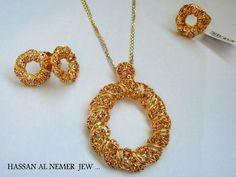Jewellery from Saudi Arabia India Jewelry, Gold Jewelry, Jewelery, Jewelry Accessories, Jewelry Design, Gold Necklaces, Gold Bangles, Diamond Pendant, Gold Pendant