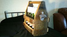 Beer bottle carrier crate