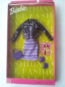 Barbie Fashion Avenue: Purple Rave- I still have at least most of this outfit.