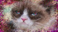 PCペイントで絵を描きました! Art picture by Seizi.N:   不思議の国のネコちゃんみたいな顔をしたデカい顔をお絵描きしました。  May J. / 「白い雲のように with クリス・ハート」(カヴァーAL「Summer Ballad Covers」より) http://youtu.be/kDoX2LiqXvo