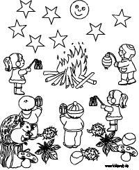 Laternenumzug Malvorlage St Martin, Comics, Fictional Characters, Nap, Lanterns, Google, Homemade Lanterns, Cute Monsters, Kids Pages