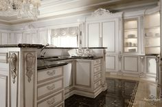 classic luxury kitchen - Google Search