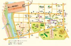 慶州(경주/キョンジュ)市内日本語宿泊地図