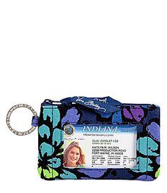 Vera Bradley Zip ID Case - Dillard's