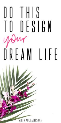 If you can imagine yourself, achieving something or having or doing something, you can manifest this into your life. But can you really design your dream life? Mom Advice, Life Advice, Kind Reminder, Creating A Vision Board, Manifesting Money, Life Video, Law Of Attraction Tips, How To Manifest, Life Is An Adventure