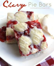 My Favorite Things: Cherry Pie Bars from The Recipe Critic
