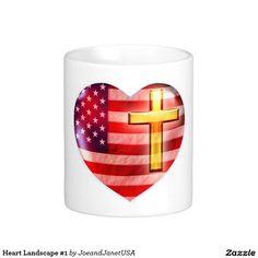 Heart Landscape #1 Classic White Coffee Mug
