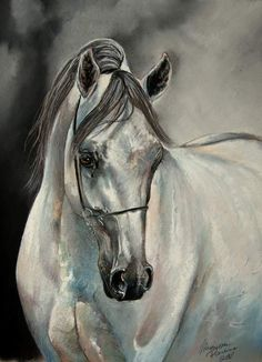 striking horse painting like you have never seen before… I am sure, you will be stunned to see these horses, because I was just gazing at them, and that' Pretty Horses, Horse Love, Beautiful Horses, Horse Drawings, Animal Drawings, Arte Equina, Pastel Artwork, Pastel Paintings, Horse Sketch