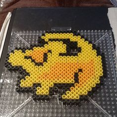 The Lion King perler beads by  fluffernugget3