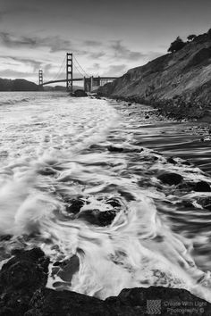 The big surf washes back and forth at Marshall Beach, San Francisco, California. I was precariously perched on top of a boulder, not daring to get too close to the thundering surf. Due to the high tide, there was no chance of getting onto the beach either. This was a great evening spent with my good friend Alan Chan when I visited San Fran in May. What an amazing place to photograph. Thanks for looking :-)