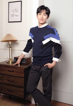 Im Siwan, Korean Actors, Kdrama, Blue And White, Cute, Style, Fashion, Swag, Moda