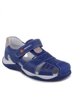 Заказать сандалии закрытые для мальчика Pablosky летние синие в интернет-магазине Kinderly - артикул PB-566714