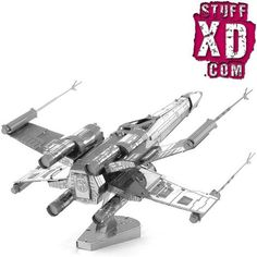 Star Wars X-wing Star Fighter Fun Metal Diy Miniature Model Kits Puzzle Toys Children Educational Boy Splicing Science Hobby Metal Building Kits, Metal Puzzles, X Wing Fighter, Star Wars Models, Metal Models, Scale Models, Star Wars Kids, 3d Laser, Puzzle Toys