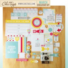 Chic Tags - Exclusive Kit - March 2014