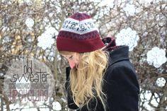 Mütze, Schal & Handschuhe aus Pullover {Upcycling}