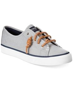 Sperry Women's Seacoast Canvas Sneakers - Sperry - Shoes - Macy's