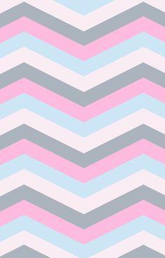 Candy Chevron Pattern